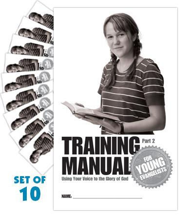 Training Manual for Young Evangelists, Quarter 2 (Set of 10)