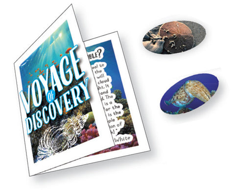 Incentive Stickers Set: Voyage of Discovery booklet