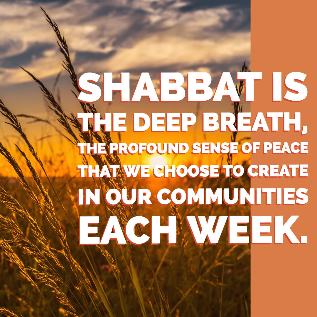 Breathing as One: Shabbat as a Common Language