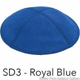 SD3 - Royal Blue Kippah Bulk Kippot Suede