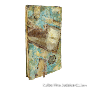 Book Object, From Above, One-of-a-Kind Artwork