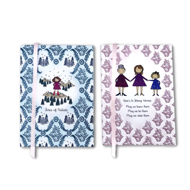 Notebook Set, Srong Women and Force Of Nature, Set Of Two