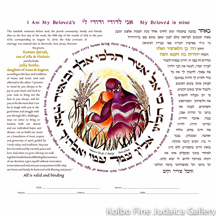 Wherever You Go Ketubah
