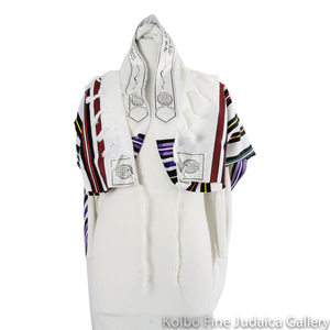 Tallit Set, Wool, B'nai Or Style