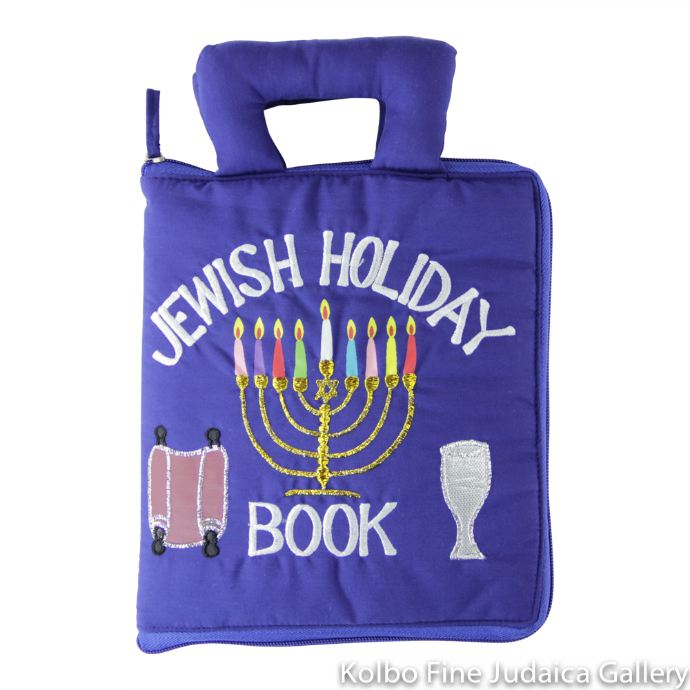 Jewish Holiday Plush Cloth Book, Soft Sculpture