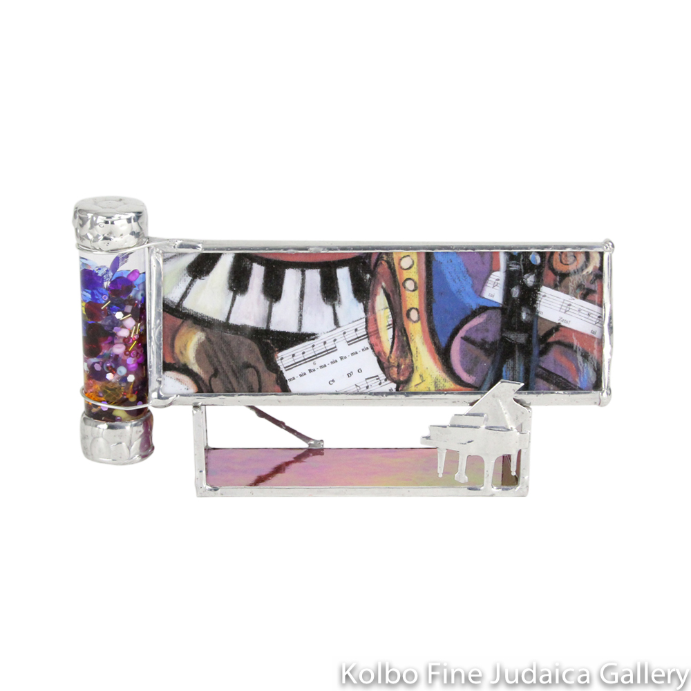 Kaleidoscope and Stand, Klezmer Design from Original Pastel