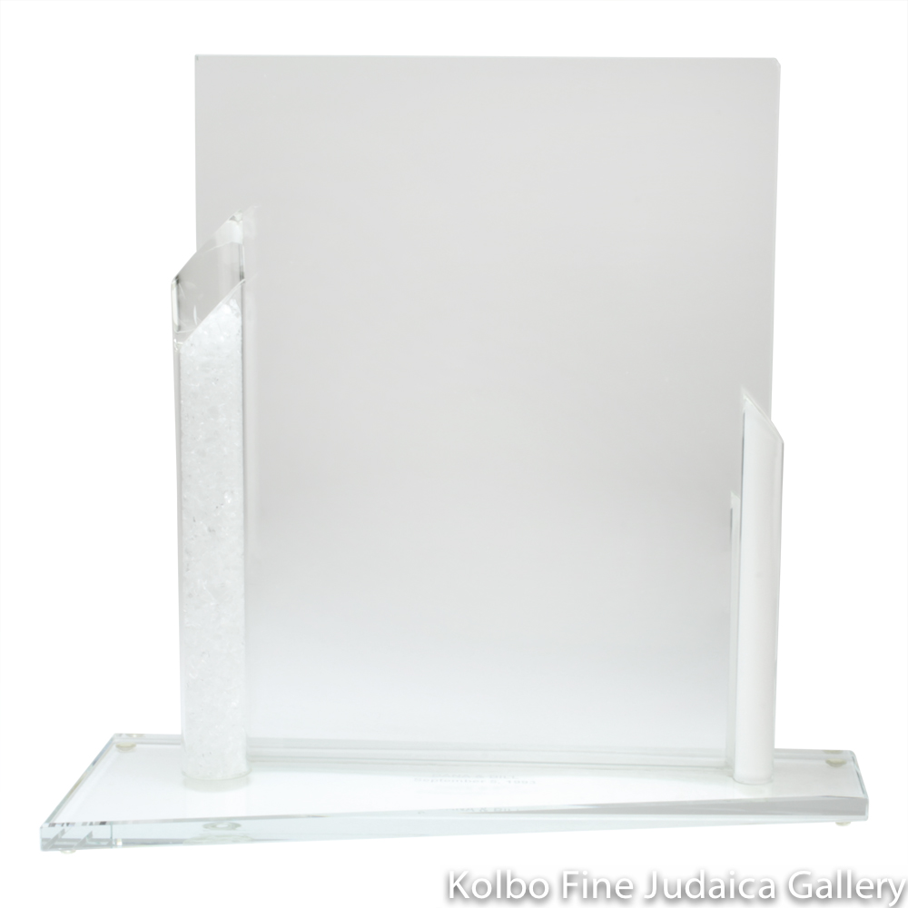 Wedding Glass Picture Frame, 8x10