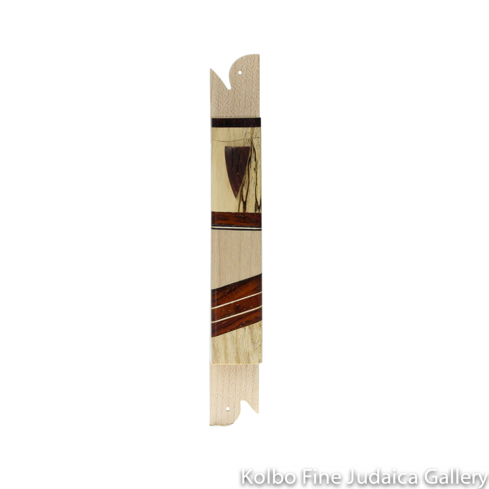 Mezuzah, Light Designs, Mixed Woods