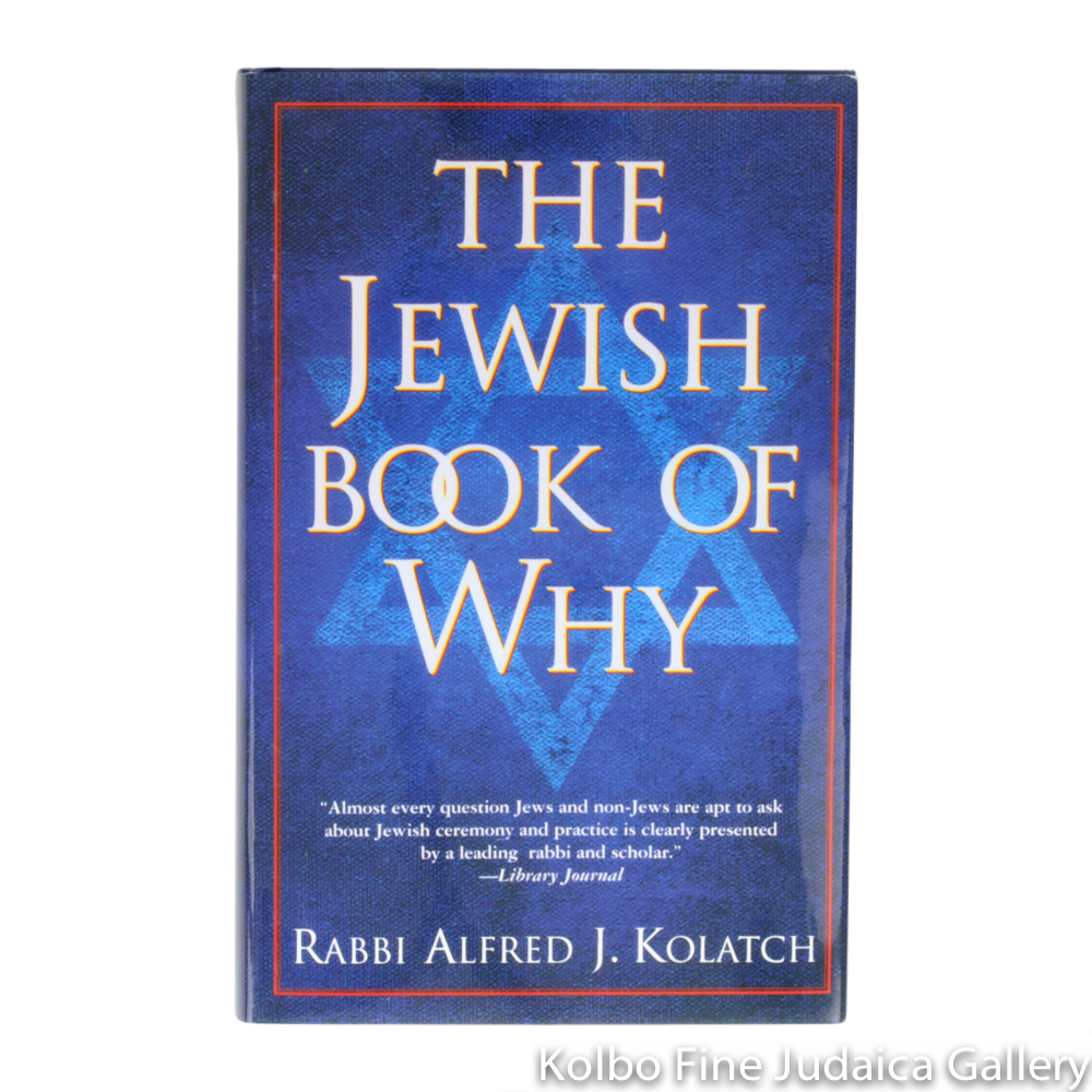 The Jewish Book of Why, hc