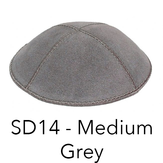 Suede Kippot by the Dozen