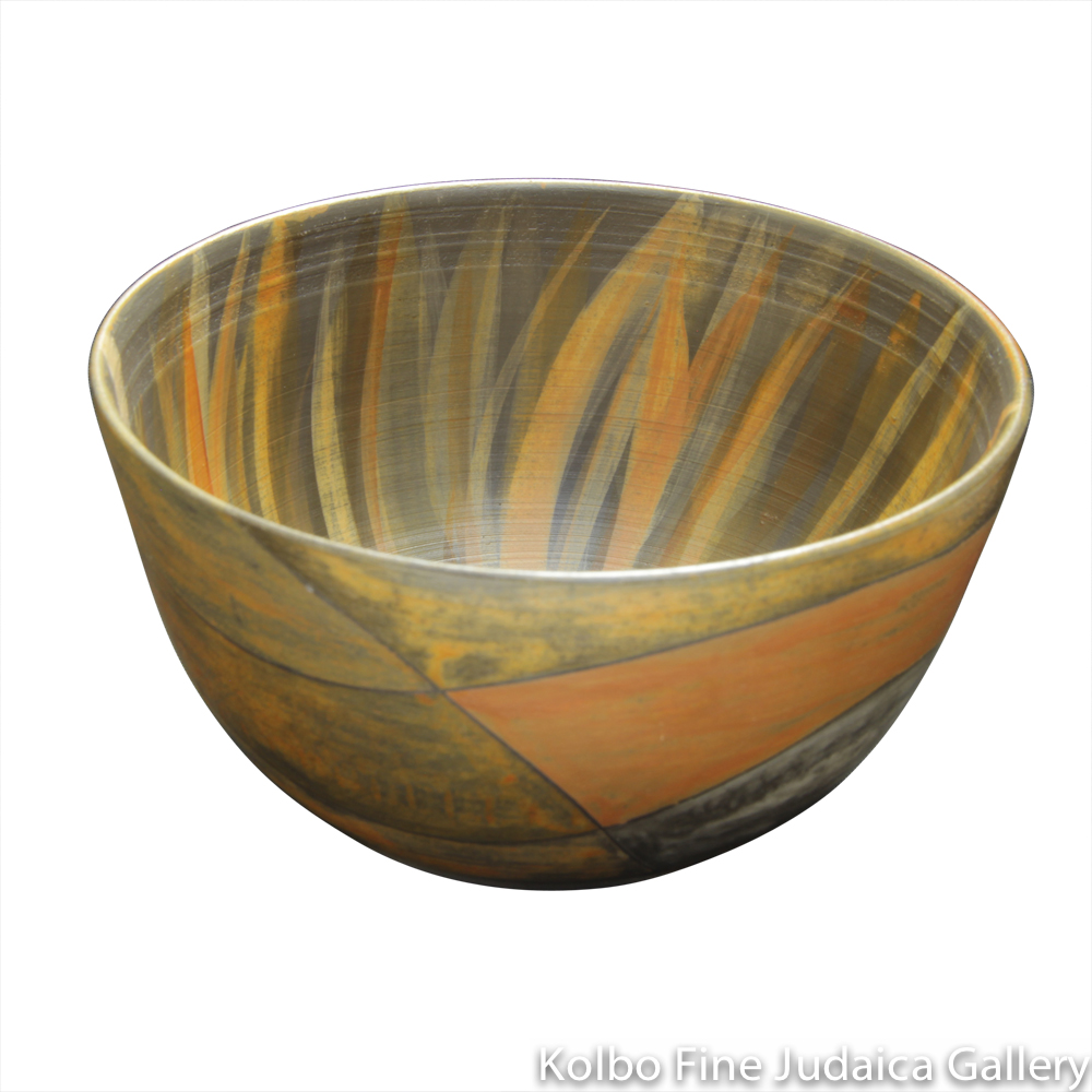 Small Bowl #4, One-of-a-Kind Stoneware Made Using Terra Sigillata