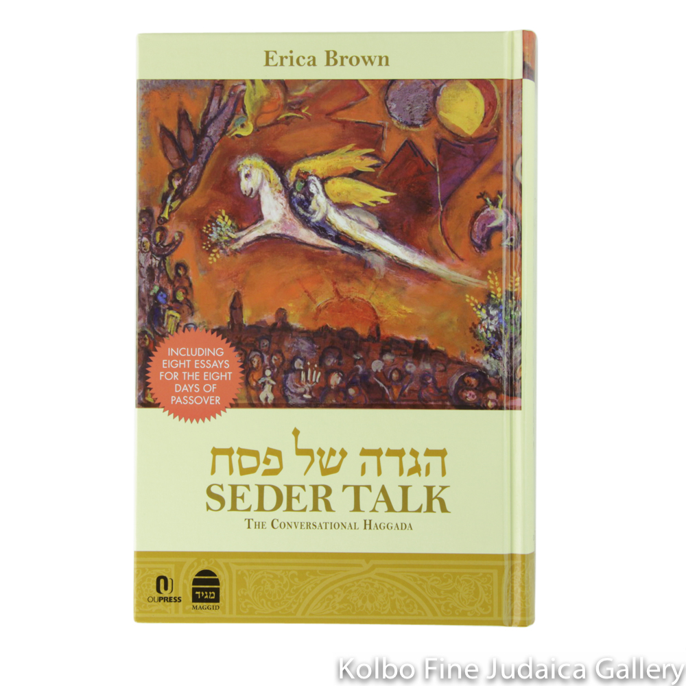 Seder Talk: The Conversational Haggada, hc