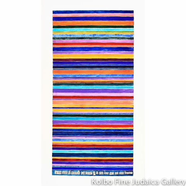 Coat of Many Colors, Joseph, 20x10, Unframed