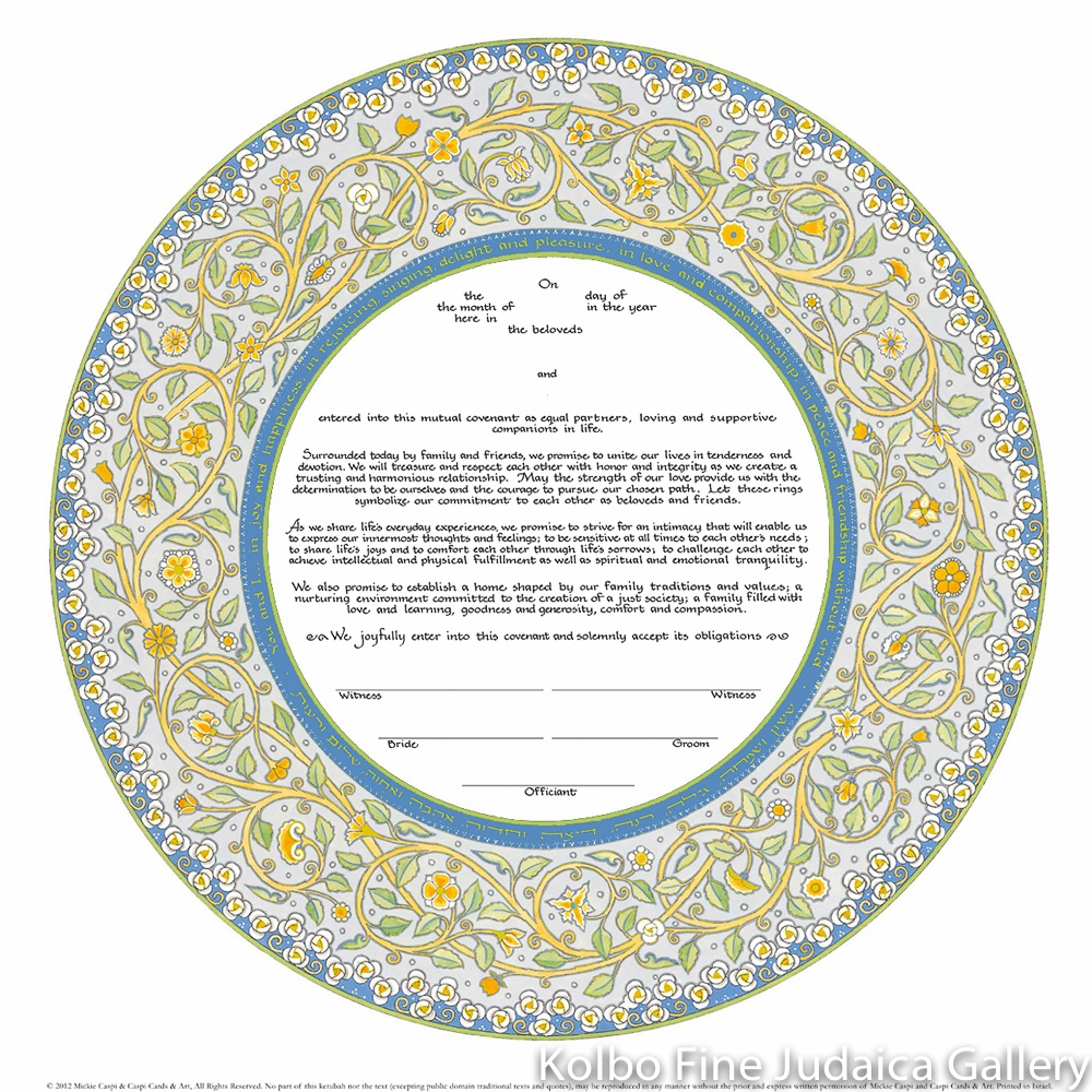 Joy & Happiness, Ketubah