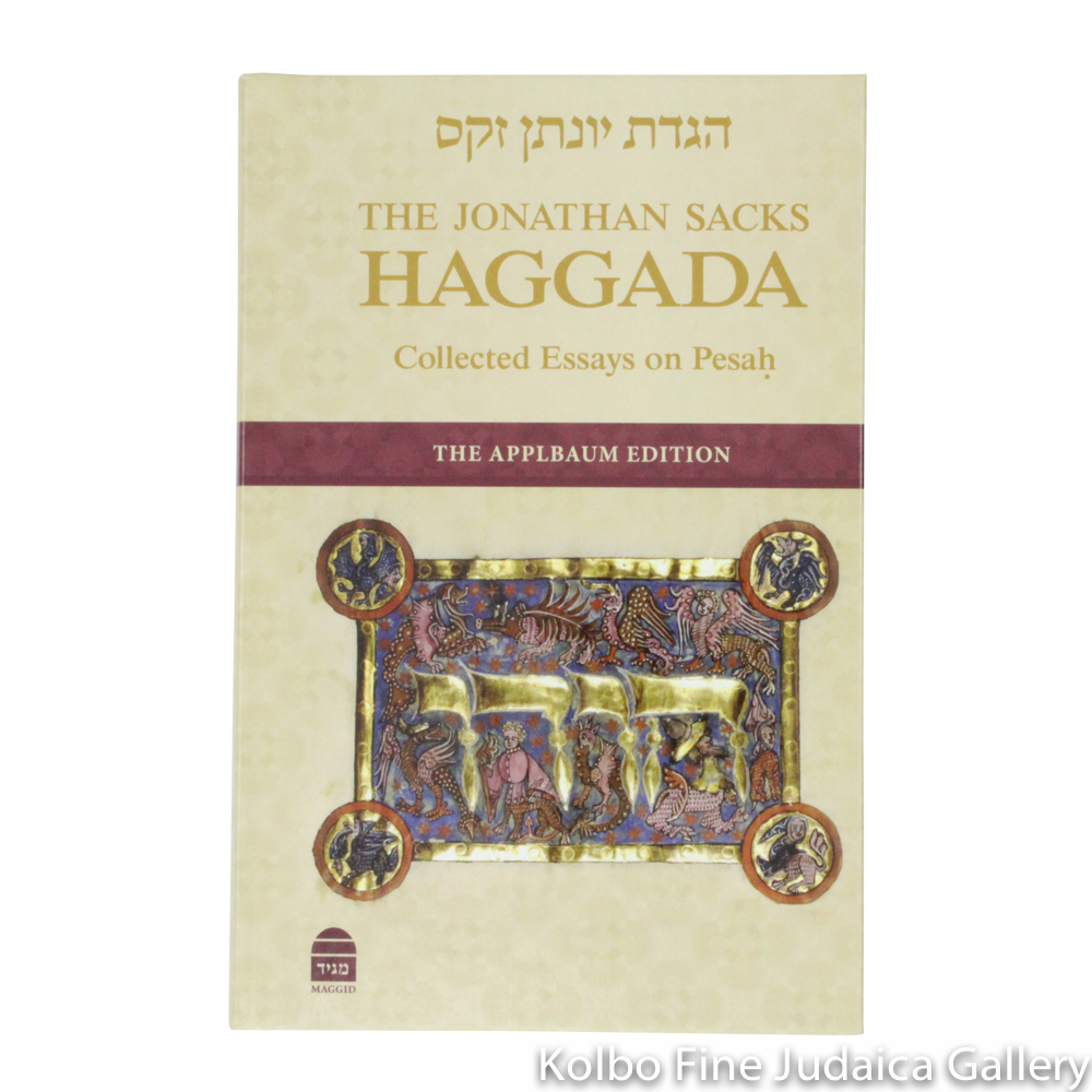 Rabbi Jonathan Sacks Haggadah: Hebrew and English Text with New Essays and Commentary, hc