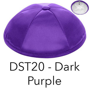 Deluxe Satin Kippot by the Dozen