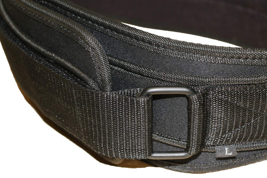"COREZONE 6"" Neoprene Weight Lifting Belt -Black"