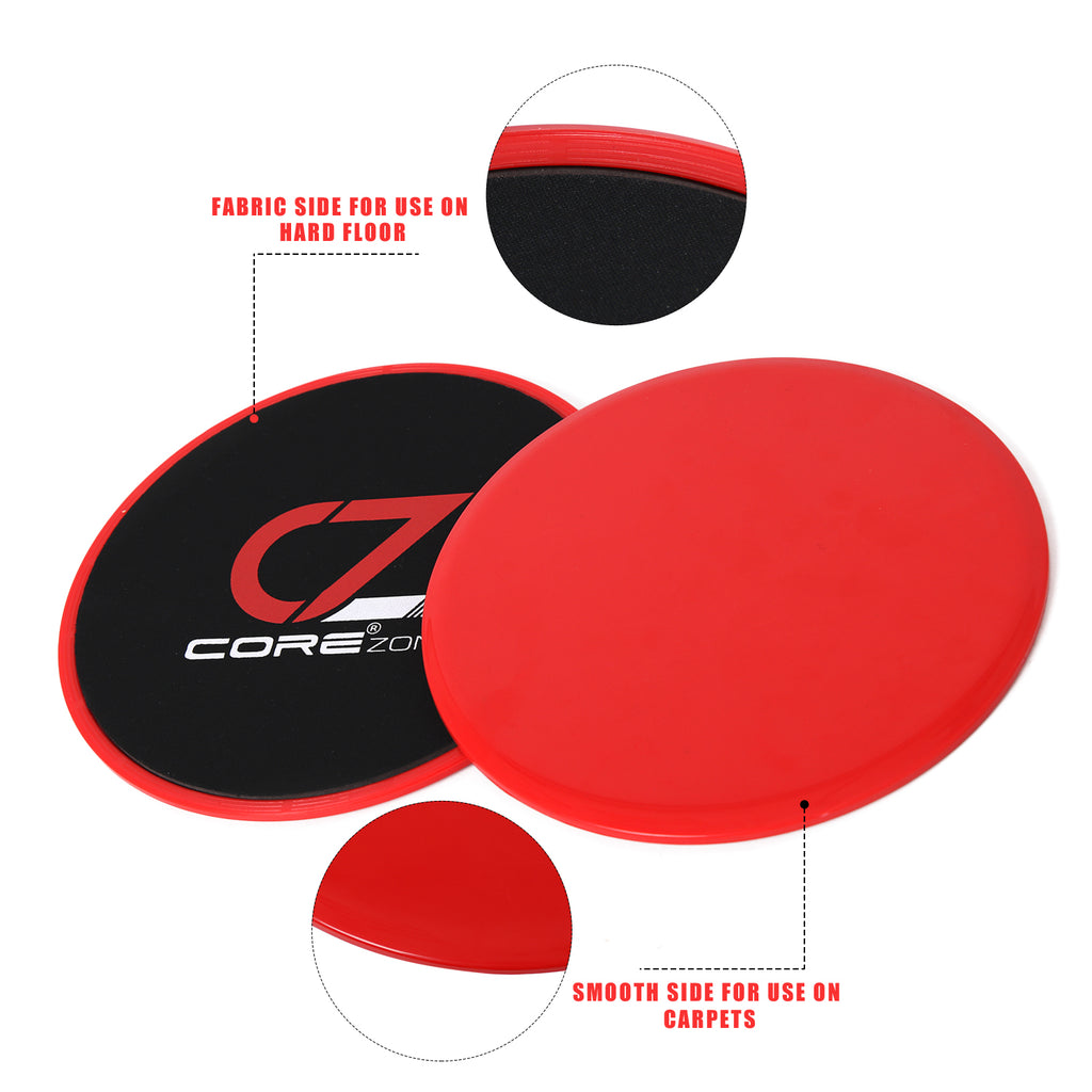 CORE SLIDERS GLIDERS