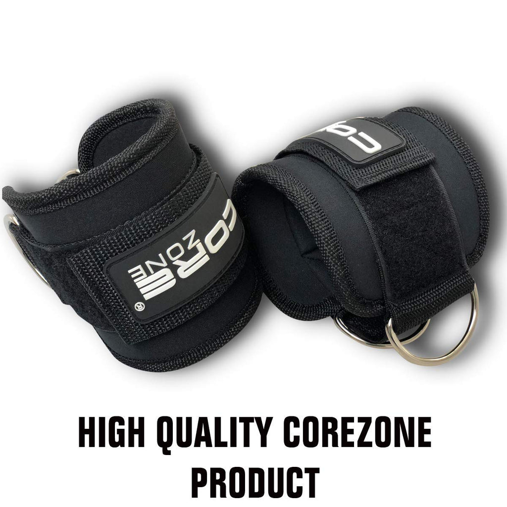 COREZONE ADJUSTABLE ANKLE SUPPORT GYM STRAP