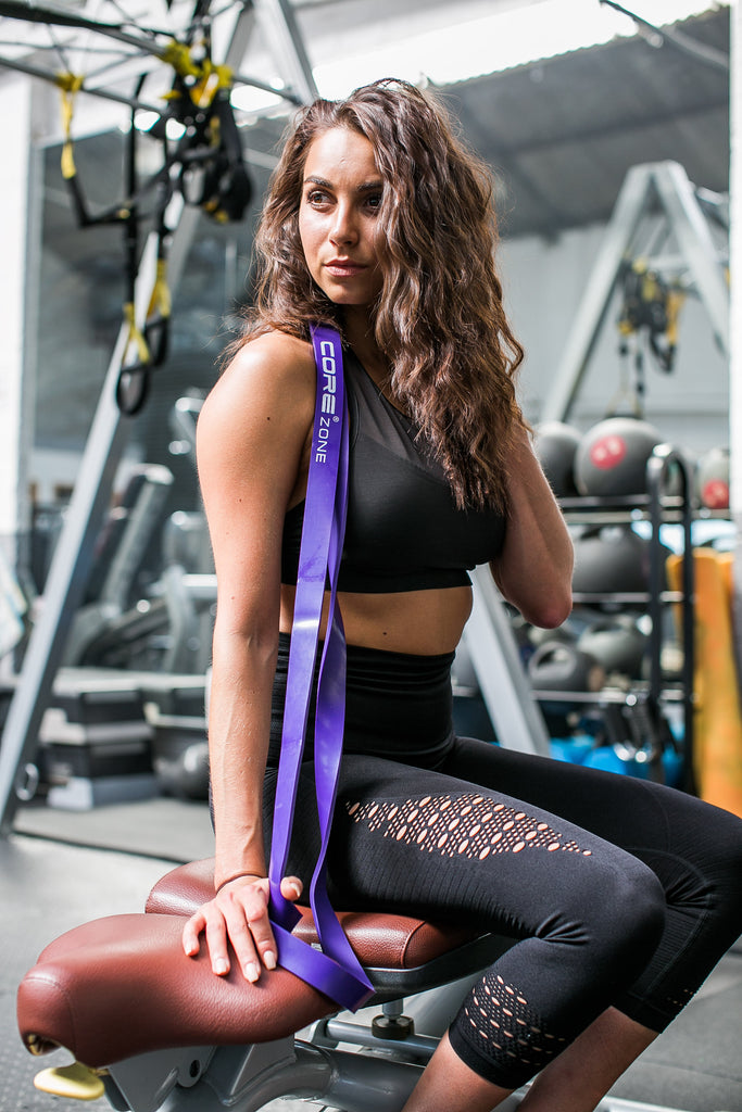 COREZONE Pull Up Bands - Resistance Bands For Pull Ups