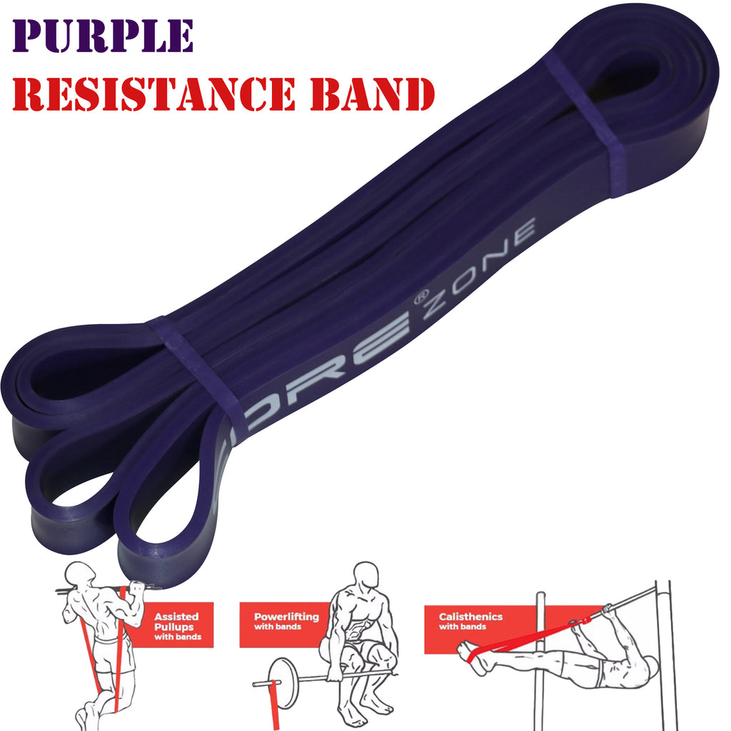pull up resistance bands purple
