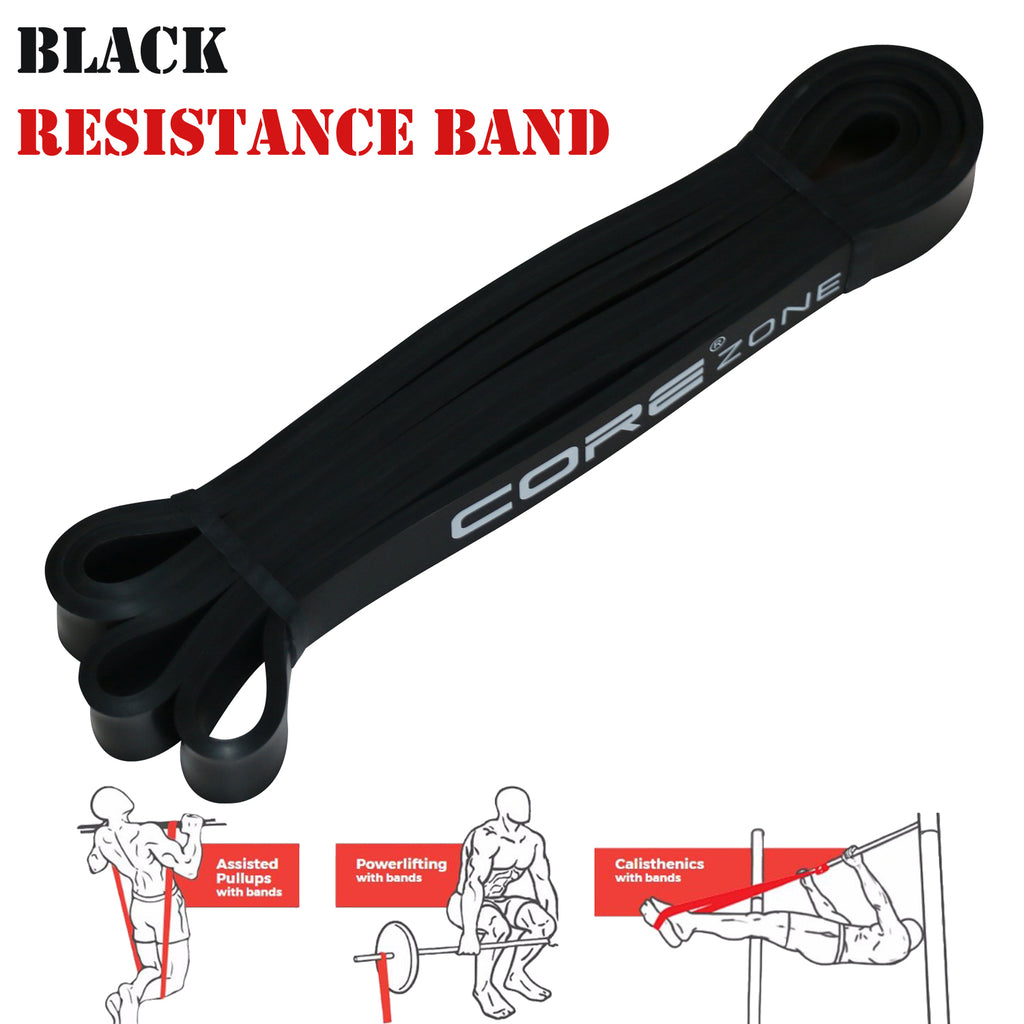 pull up resistance bands black