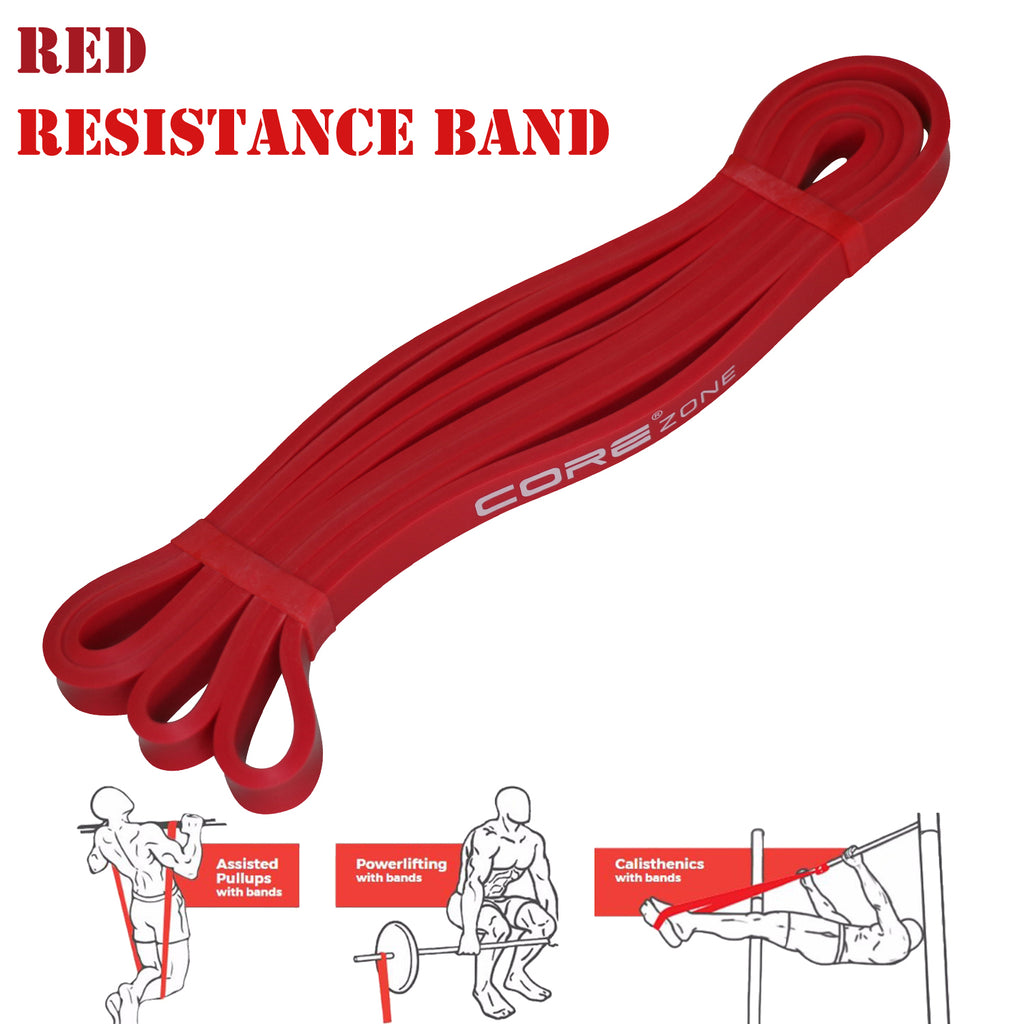 pull up resistance bands red