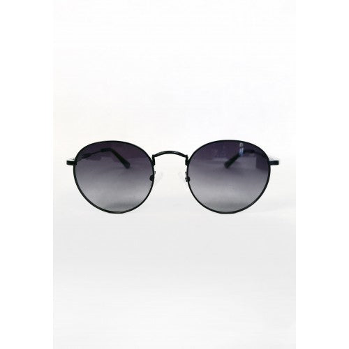NO4 BLACK WIRE FRAME SUNGLASSES