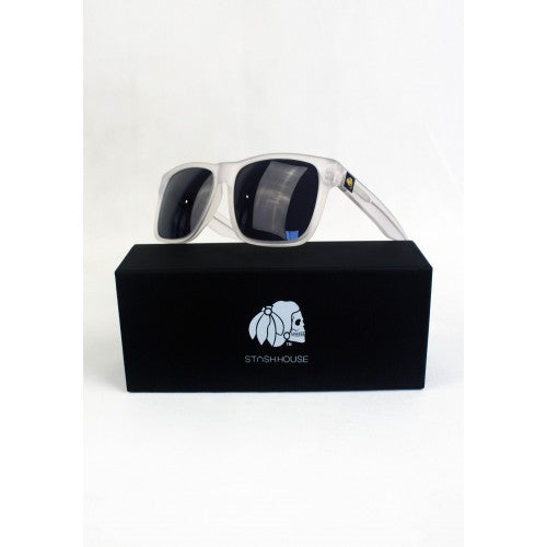 NO1 MATTE CLEAR SUNGLASSES