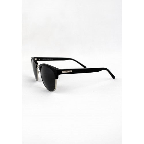 NO2 GLOSS BLACK SILVER SUNGLASSES