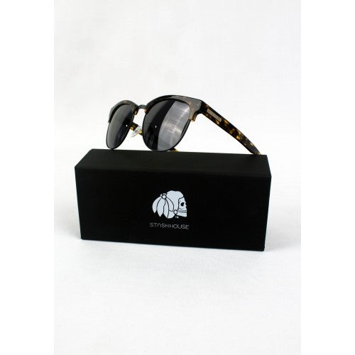 NO2 TORTOISE BLACK SUNGLASSES