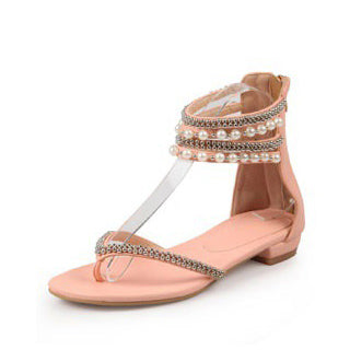 Women's Beaded Multiple Strap Sandals