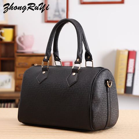 2017 Large Capacity Women Bags Shoulder Tote Bags bolsos New Women Messenger Bags Famous Designers Leather Top Handle Handbags