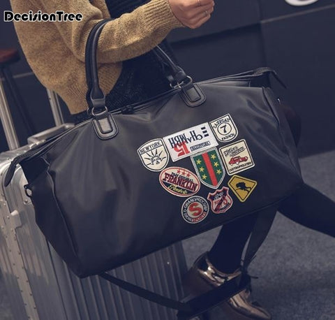 Large Capacity Portable Travel Bags Men and Women Luggage Bags New Designers Duffle Shoulder Bags Casual Cute Travel Bags