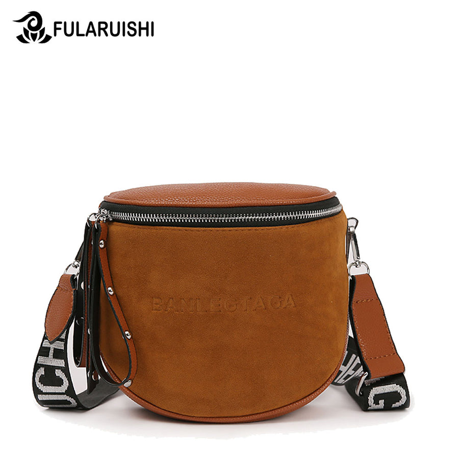 Fularuishi Crossbody Bag For Women Messemger Bags Pu Leather Shoulder Bag  Fashion Famous Brand Lady Semicircle 92992f1cb1d1c