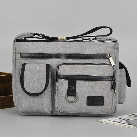 915 New Fashion Men's All Waterproof Oxford Cloth Strong, All-in-One Men's Bags Shoulder Large Capacity Messenger Bag