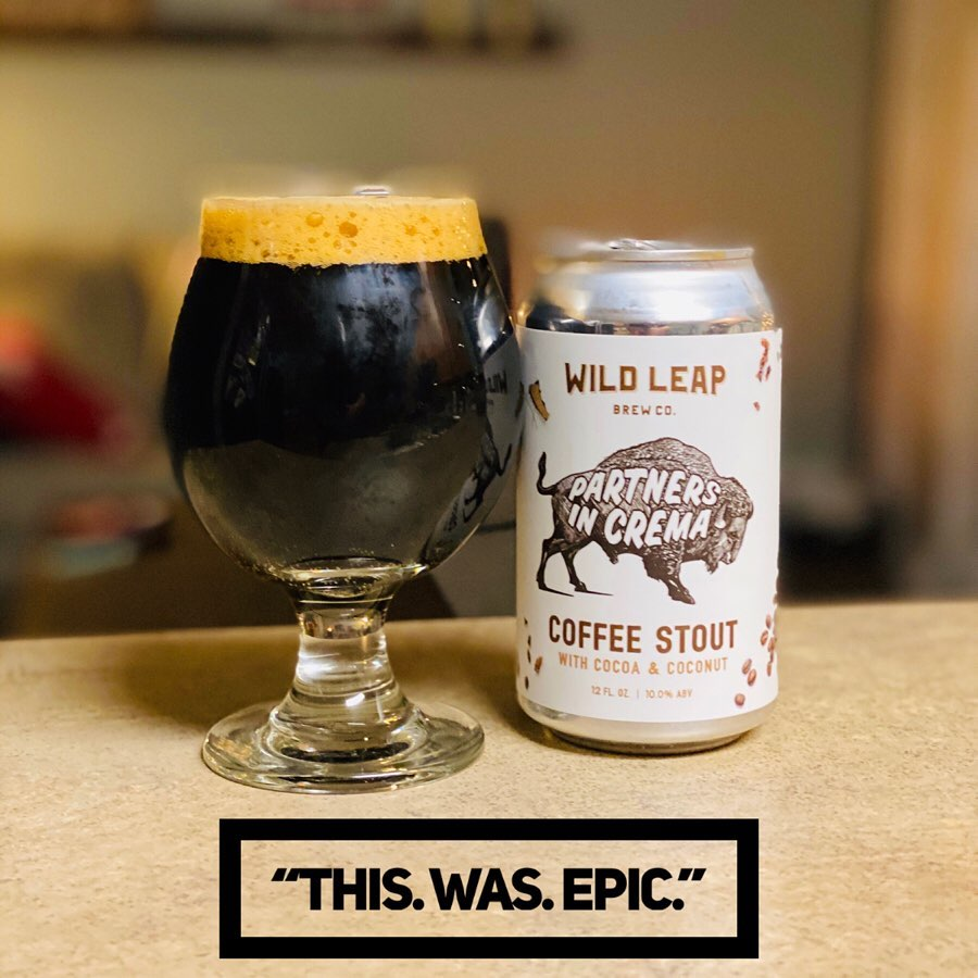 Wild Leap - Partners In Crema Imperial Stout