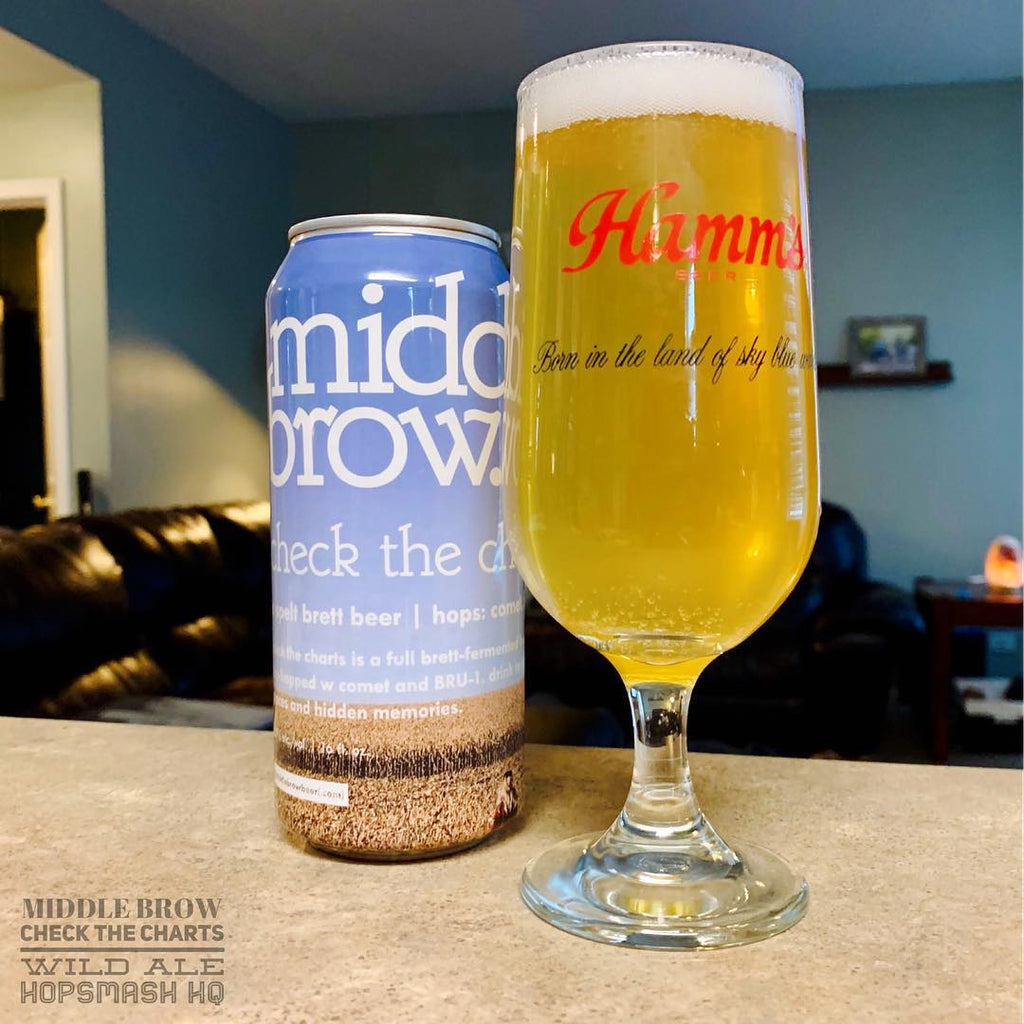 Middle Brow - Check The Charts Wild Ale