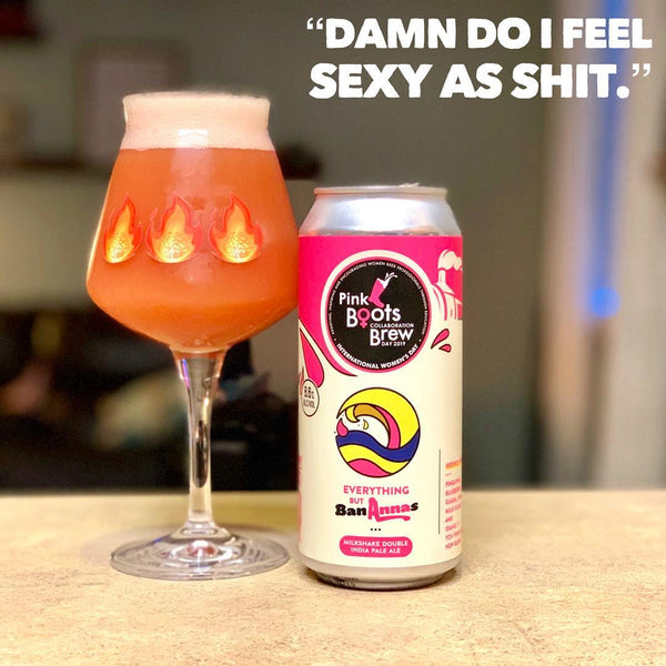 WeldWerks & Pink Boots Society - Everything But BanAnnas Double IPA