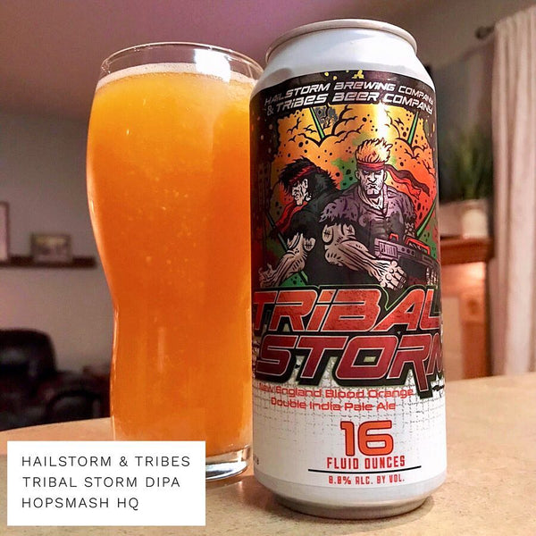 Hailstorm & Tribes - Tribal Storm Double IPA