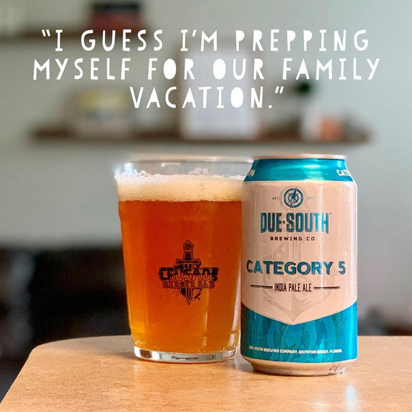 Due South - Category 5 Double IPA