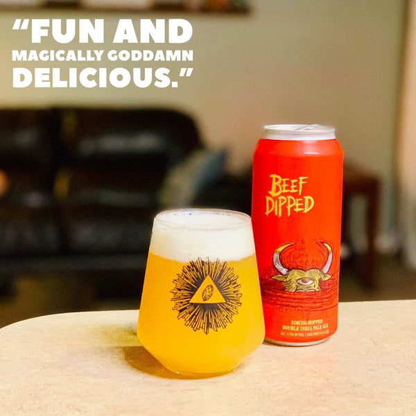 Hop Butcher - Beef Dipped Double IPA