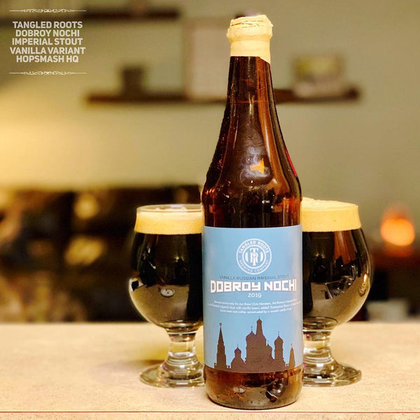 Tangled Roots - Dobroy Nochi Imperial Stout (Vanilla Variant)