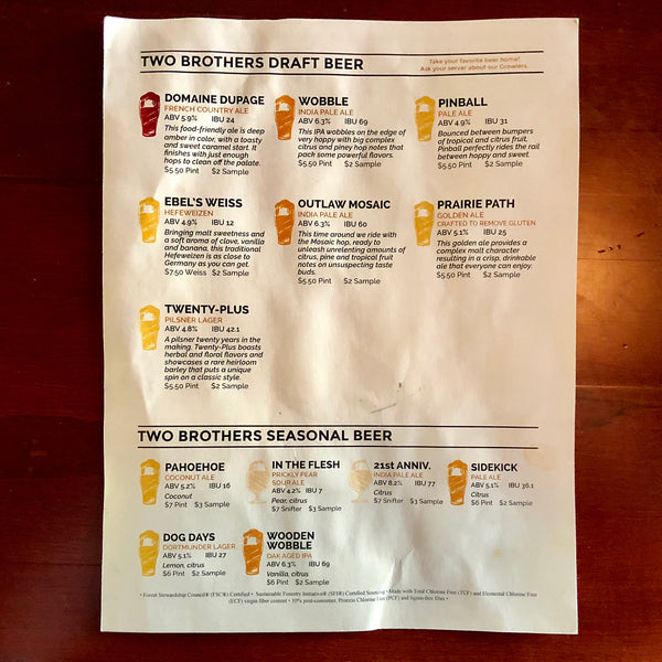Two Brothers Roundhouse - Aurora, Illinois