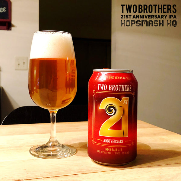 Two Brothers - 21st Anniversary IPA