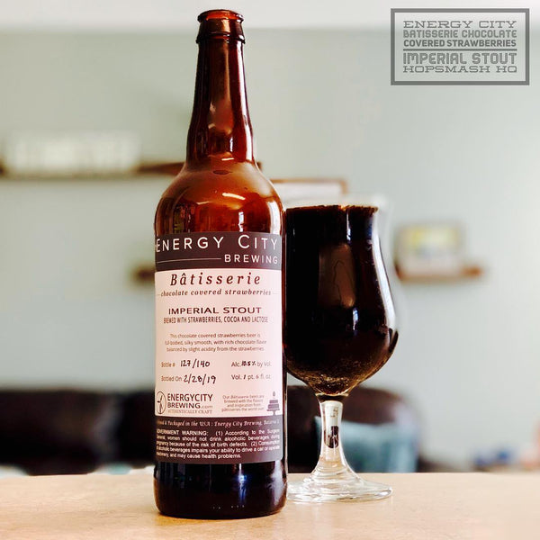 Energy City - Bâtisserie Chocolate Covered Strawberries Imperial Stout