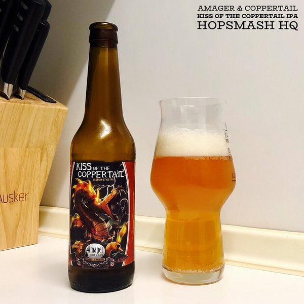 Amager & Coppertail - Kiss Of The Coppertail IPA