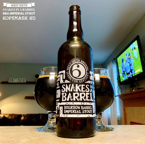 West Sixth - 2016 Snakes In A Barrel BBA Imperial Stout