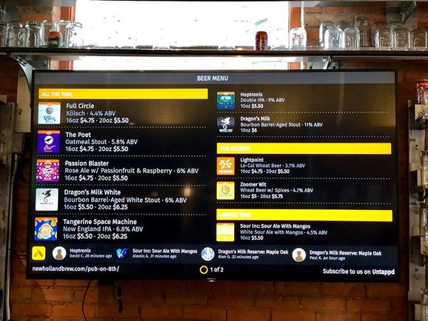 New Holland Brewing Co. - Holland, Michigan