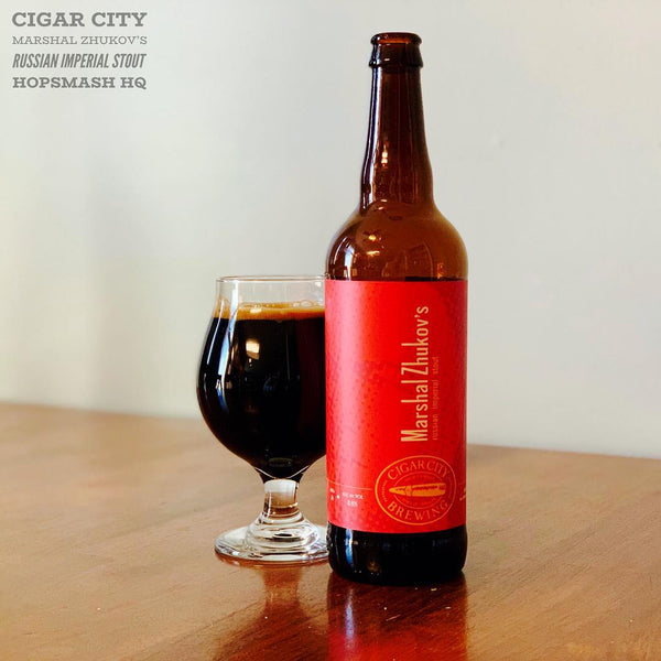 Cigar City - Marshal Zhukov's Russian Imperial Stout
